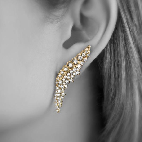 Ear Cuff Karlie Ouro   Lanarée Acessórios