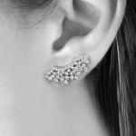 Ear Cuff Gisele Prata | Lanarée Acessórios