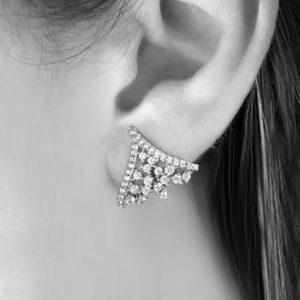 Ear Cuff Lexie Cristal   Lanarée Acessórios