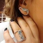 Brinco Ear Cuff Turmalina | Lanarée Acessórios