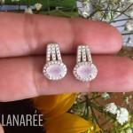 Conjunto Quartzo Rosa | Lanarée Acessórios