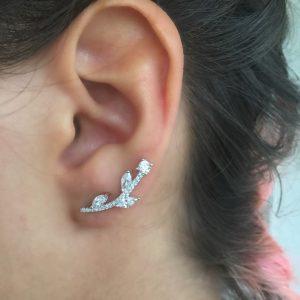 Ear Cuff Flora   Lanarée Acessórios