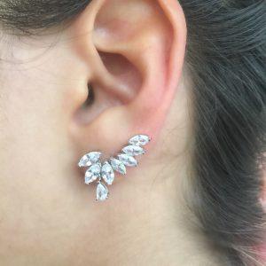 Ear Cuff Gota Navete | Lanarée Acessórios
