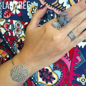 Pulseira Mandala Nano Opala | Lanarée Acessórios