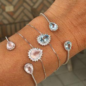 Pulseira Ajustável & Bracelete em Prata 925 | Lanarée Acessórios