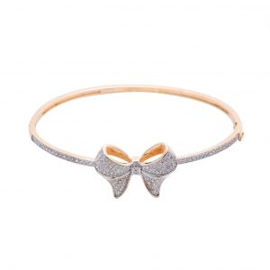 Bracelete Zircônia Laço Cheio | Lanarée Acessórios