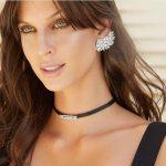 Brinco Ear Cuff Asa Luxo Semijoia | Lanarée Acessórios