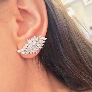 Brinco Ear Cuff Diana Luxo   Lanarée Acessórios