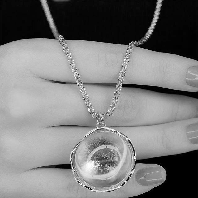Colar Unique Cristal Transparente Semijoia | Lanarée Acessórios