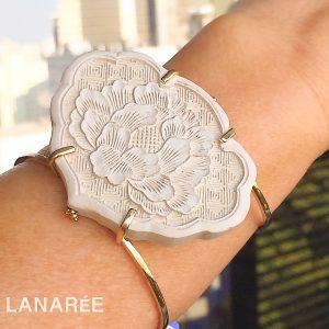 Pulseira Bracelete Shang Laca Chinesa | Lanarée Acessórios