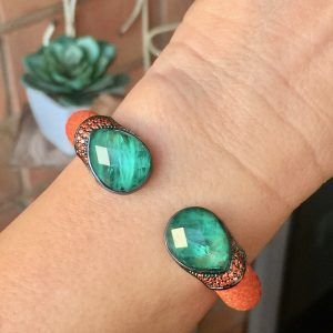 Pulseira Bracelete Galuchat Monaco | Lanarée Acessórios