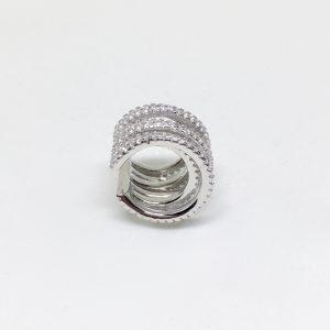 Brinco Piercing 6 Linhas Prata | Lanarée Acessórios
