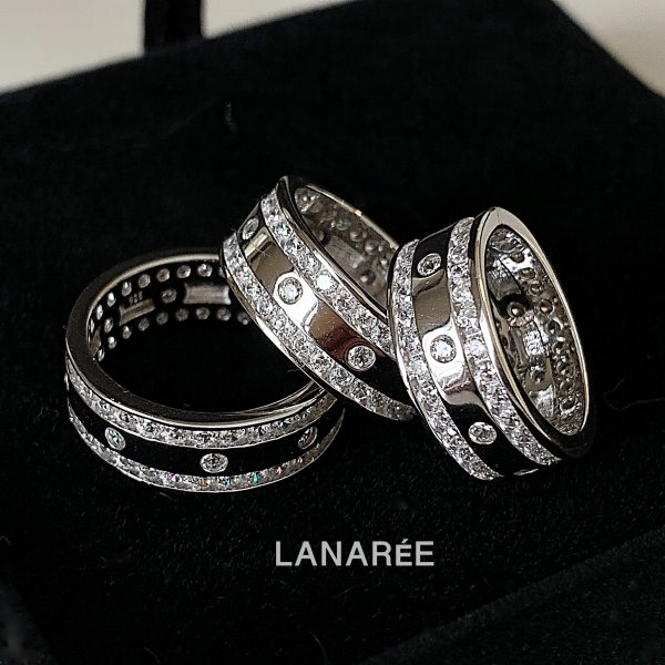 Anel Aliança Inteira Lisa | Lanarée Acessórios