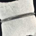 Pulseira Bracelete Ródio Negro | Lanarée Acessórios