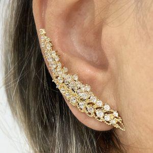 Ear Cuff Karlie Ouro | Lanarée Acessórios