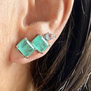 Brinco Ear Cuff Colombiana Fusion | Lanarée Acessórios